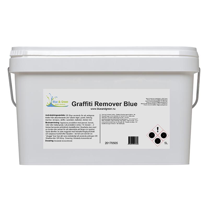 Blue & Green - Graffiti Remover Blue