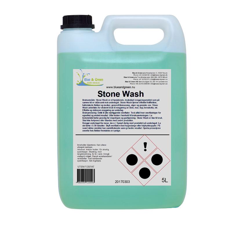 Blue & Green - Stone Wash