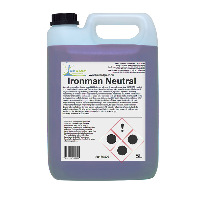 Blue & Green - Ironman Neutral